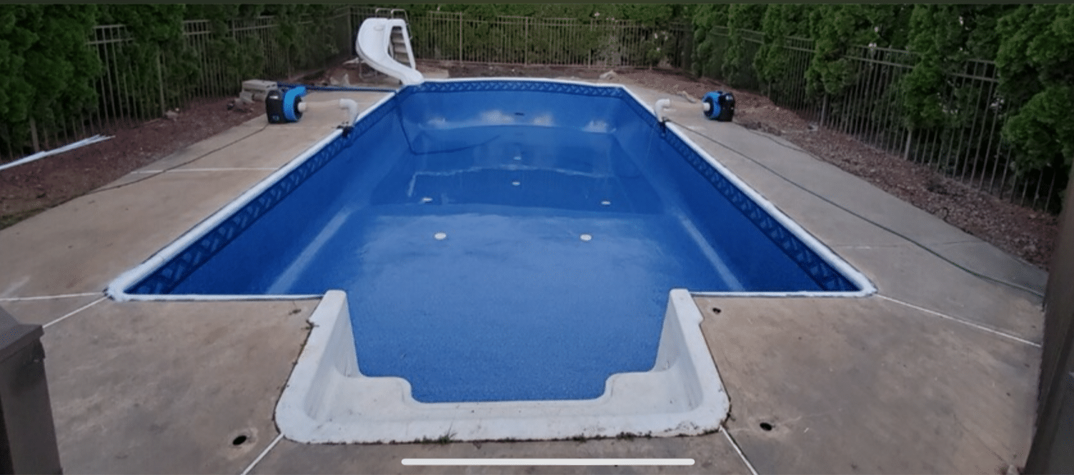 In-ground Pool Liner Change in Matawan, NJ - After Photo