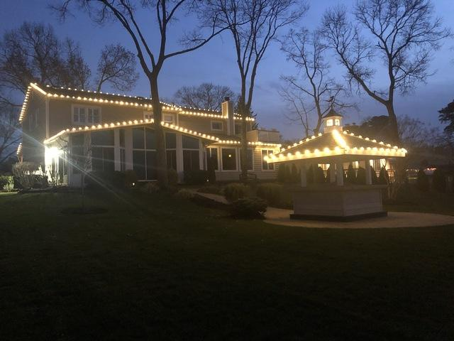 Christmas Lights Display in Brick, NJ - After Photo