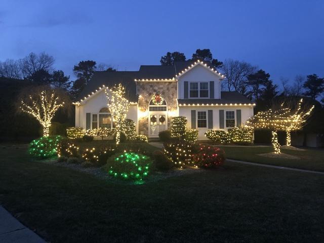 Beautiful Light Display in Brick, NJ - After Photo
