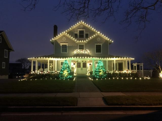 Belmar, NJ Holiday Lights