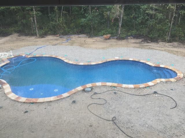 Custom In-ground Radiant Pool Installation in Jackson, NJ