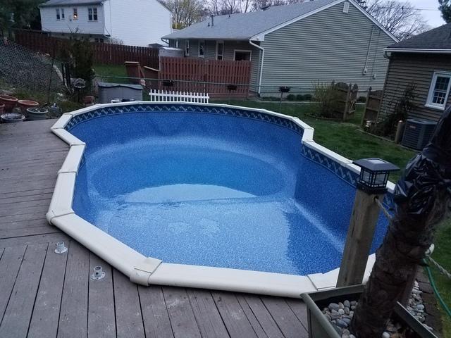 Pool Liner Replacement in Shark River Hills, NJ