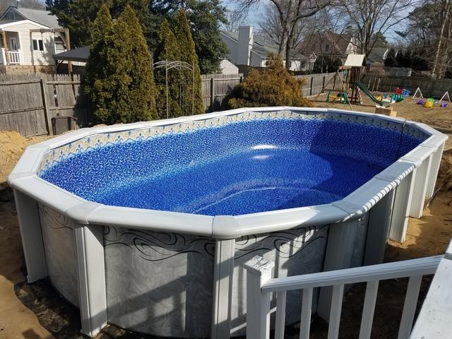 Doughboy Pool Installation in Point Pleasant