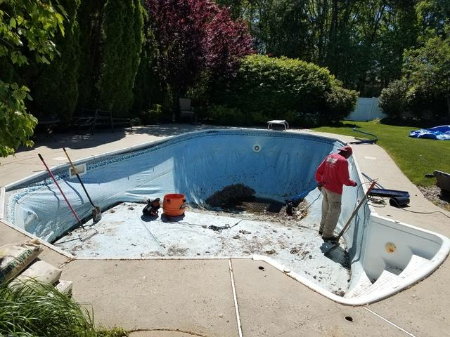 In-Ground Pool Liner Change in Tinton Falls, NJ