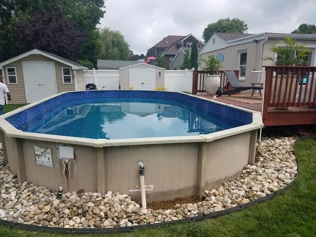 Doughboy Pool Liner Change in West Long Branch, NJ