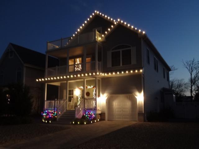 Christmas Lighting in Belmar, NJ