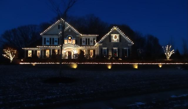 Professional Christmas Lights in Cream Ridge, NJ - After Photo