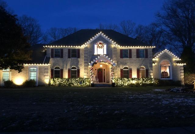 Professional Christmas Lights in Wall, NJ