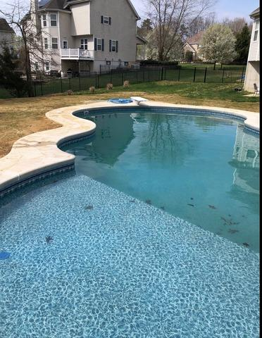 Professional Pool Opening in Jackson, NJ - After Photo