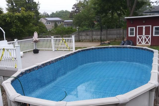 Above Ground Pool Liner Replacement in West Long Branch, NJ