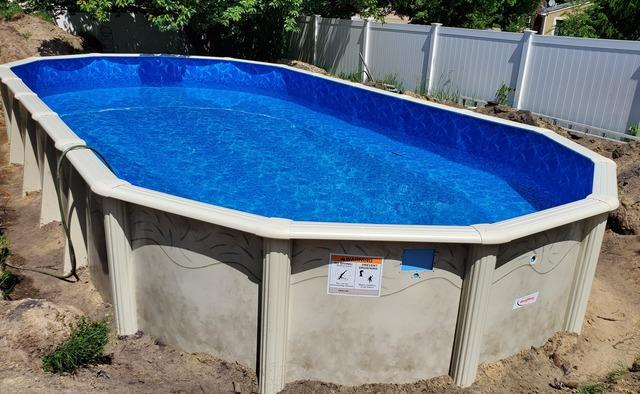 Doughboy Pool Installation in Howell, NJ