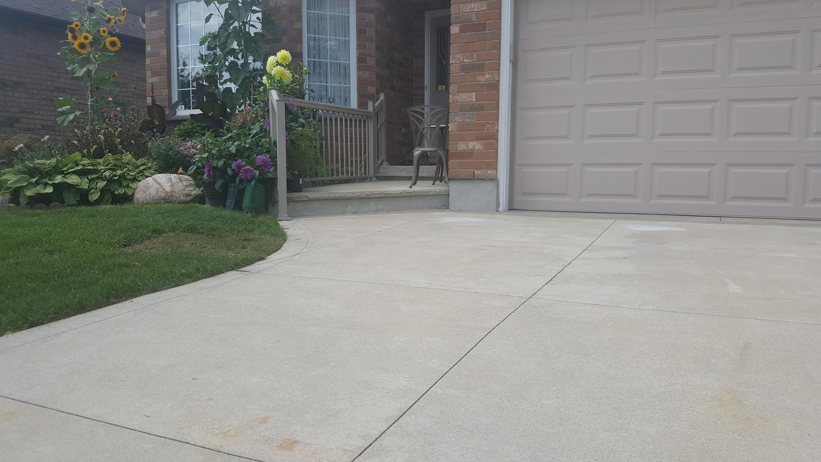 Raise and Level example in Waterloo, Ontario - After Photo