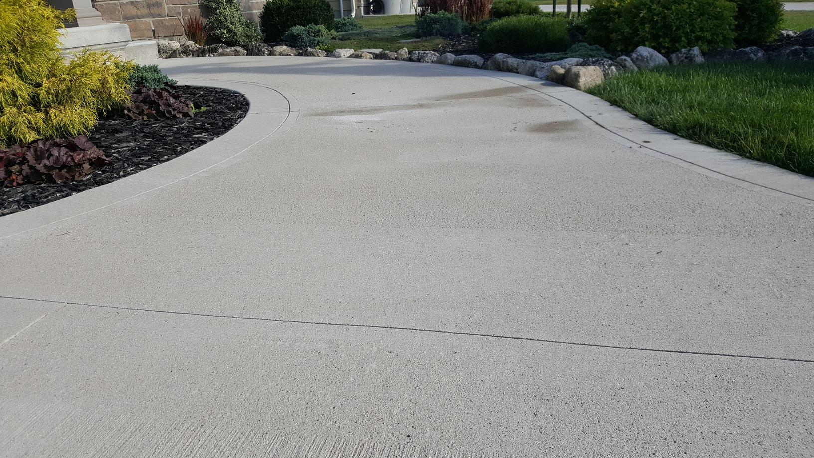 Raising a walkway in Grand Bend, Ontario - After Photo