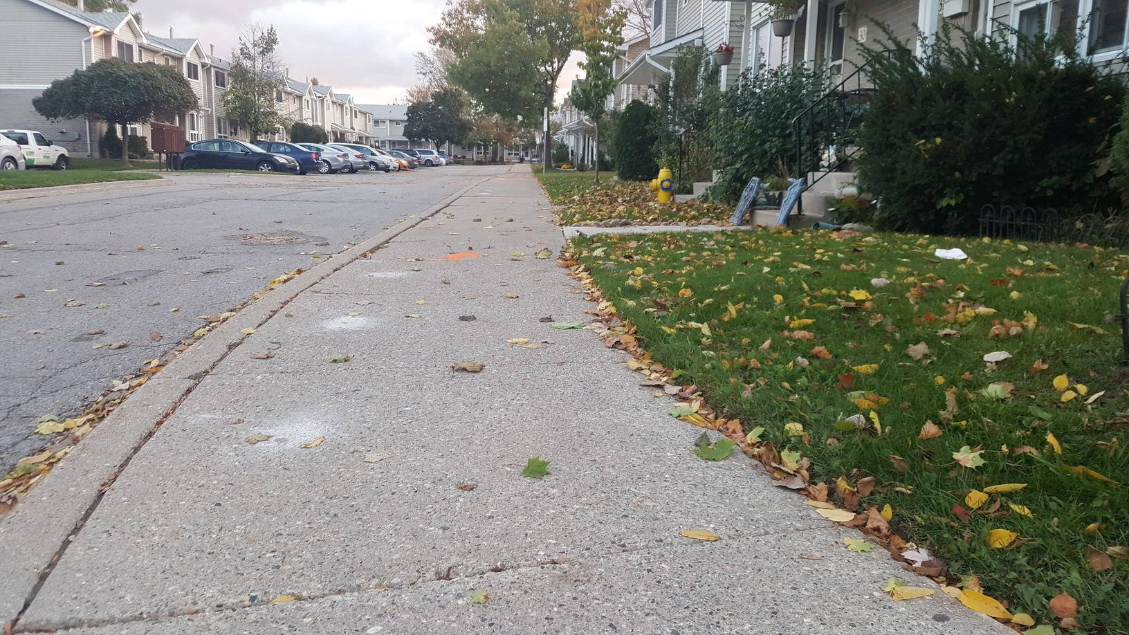 Sidewalk leveling in London, Ontario - After Photo