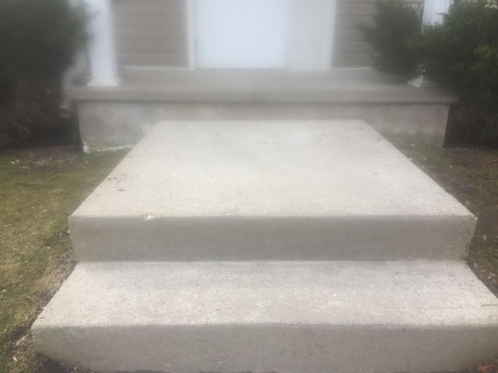 Raising Steps in London, Ontario - After Photo