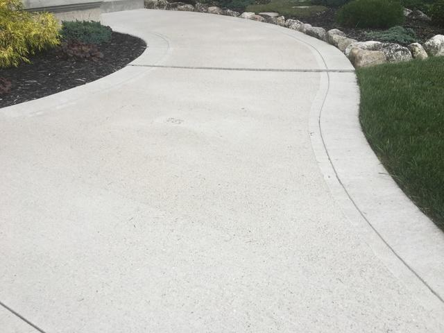 Raising a walkway in Grand Bend, Ontario - Before Photo