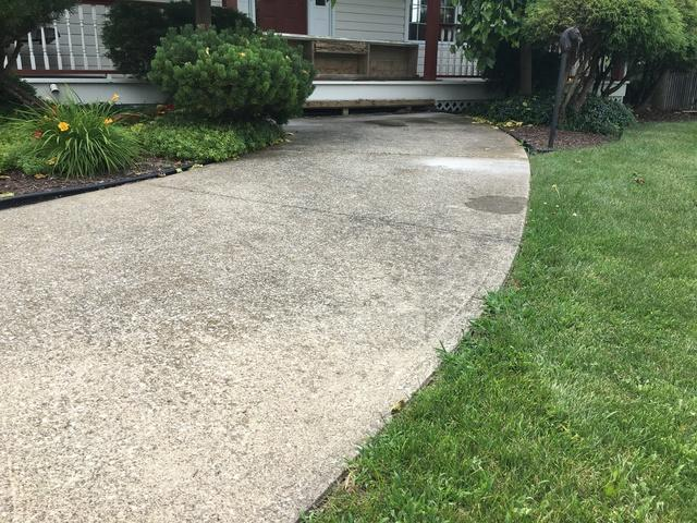 A Walkway Raise And Level In Corunna, Ontario - After Photo