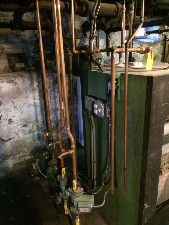 Ed's Combi Boiler Install in Dedham - Before Photo