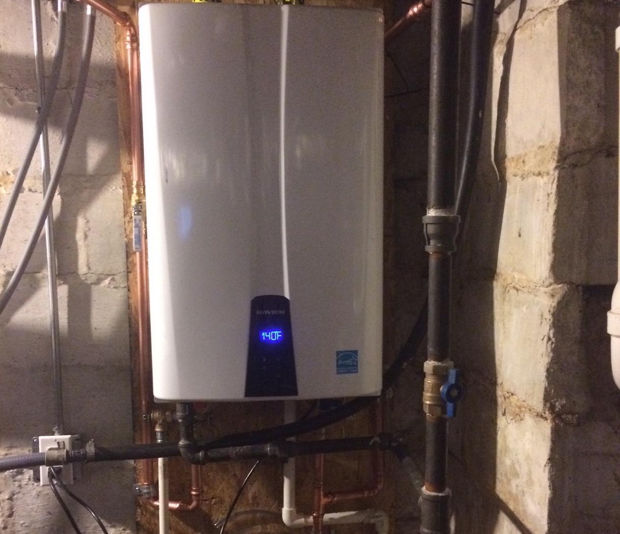 Hot Water Heater Replacement in Natick, MA - After Photo