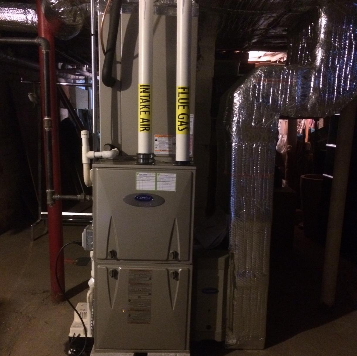 Furnace Replacement in Natick, MA - After Photo