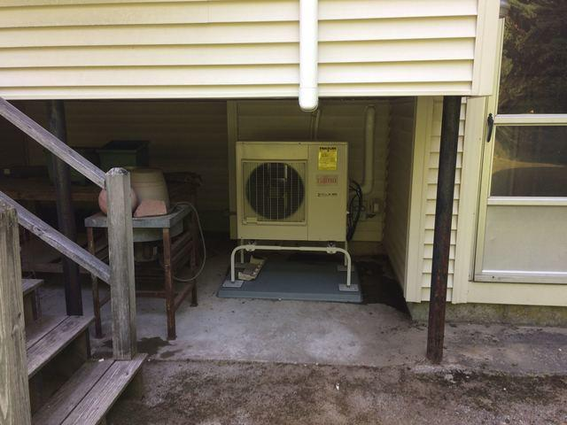 Ductless AC Install in Holbrook, MA - After Photo