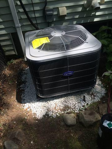 Central AC Replacement in Sharon, MA - After Photo