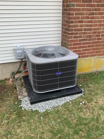Central AC Replacement in Randolph, MA