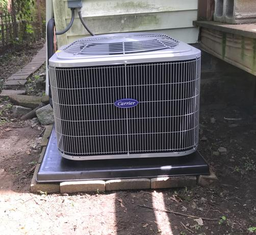 Central AC Replacement in Newton, MA