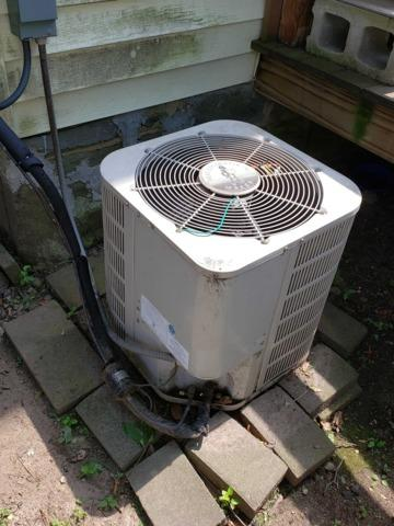 Central AC Replacement in Newton, MA - Before Photo
