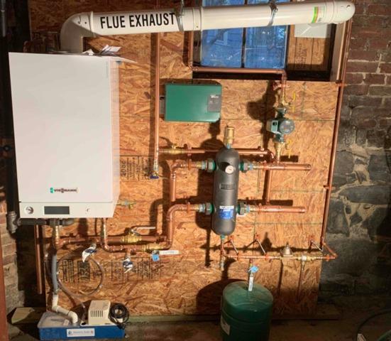 Viessmann Boiler Installation in Cambridge, MA