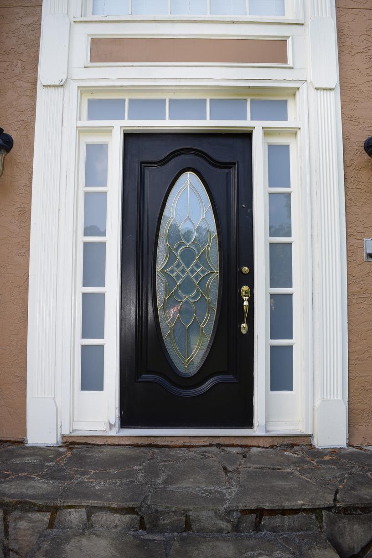 Acworth Entry Door Conversion - Before Photo