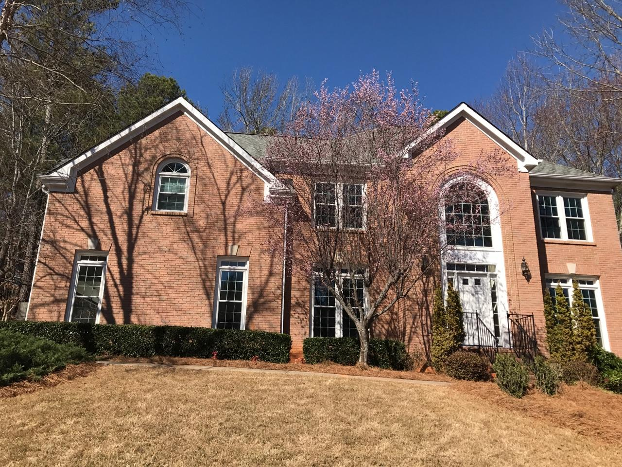 Alpharetta, GA Entry System and Window Transformation - After Photo