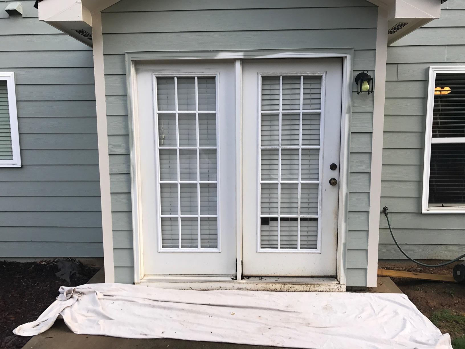 Acworth, GA Patio Door Conversion - Before Photo