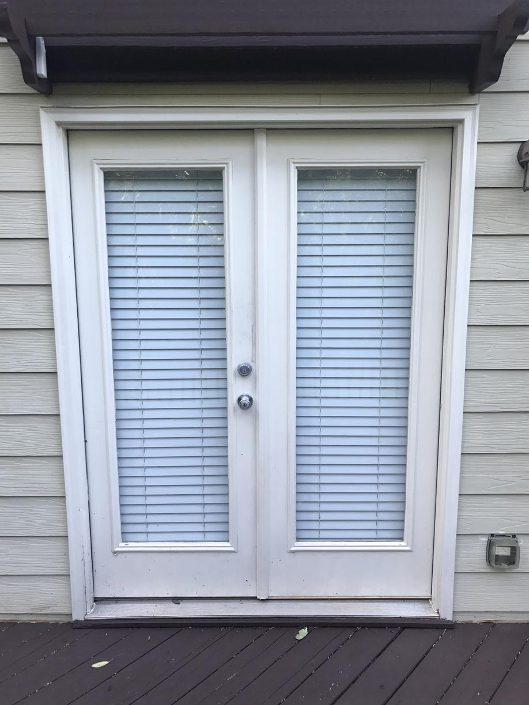 Acworth, GA Door Conversion - Before Photo