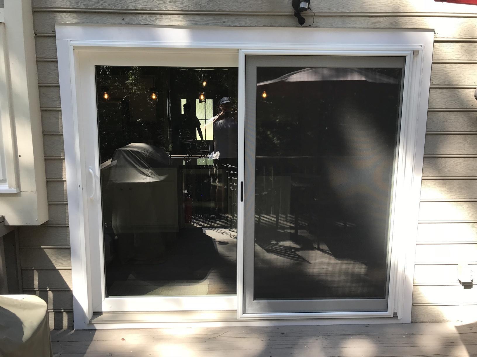 New Great Lakes Window ComfortSmart Premier Series Slider Door - After Photo