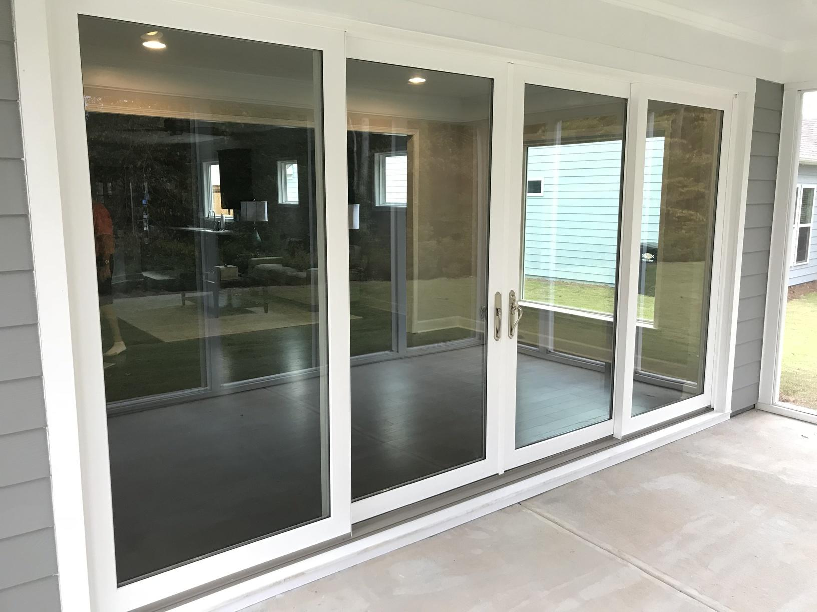 Sliding Door Conversion in Kennesaw - After Photo