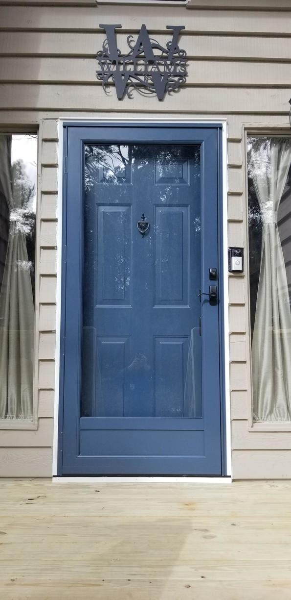 ProVia Legacy 20-Gauge Smooth Steel Entry Door in Acworth, Geogria - After Photo