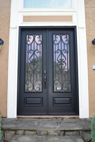 Acworth Entry Door Conversion