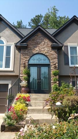 Woodstock Custom Entry Door Installation