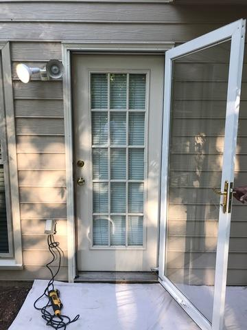 West Cobb Back Door Replacement in Marietta, GA