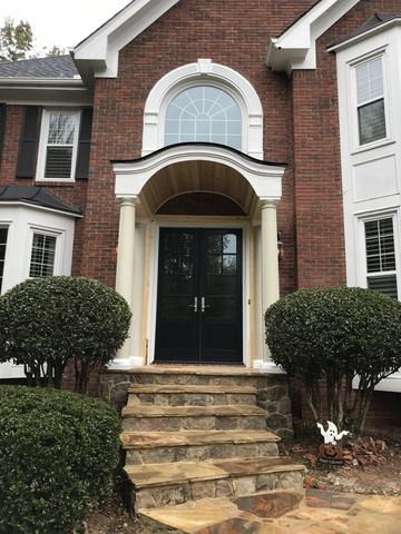 New Sierra Pacific French Door/Window Makeover in Alpharetta