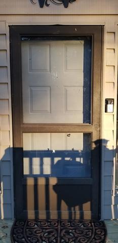 ProVia Legacy 20-Gauge Smooth Steel Entry Door in Acworth, Geogria - Before Photo