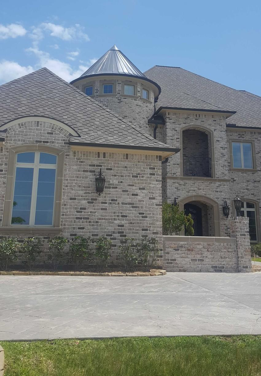 Treacherous Metal Turret Replacement - Custom Roof in Richmond, TX - After Photo