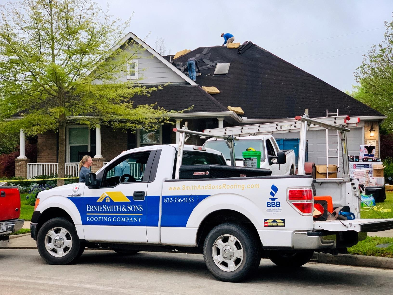 Manvel, TX Home Gets New Roof - Before Photo