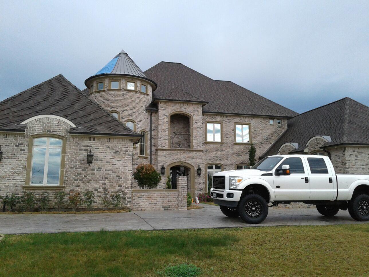 The Tough Roof Repair in Richmond, TX - Before Photo