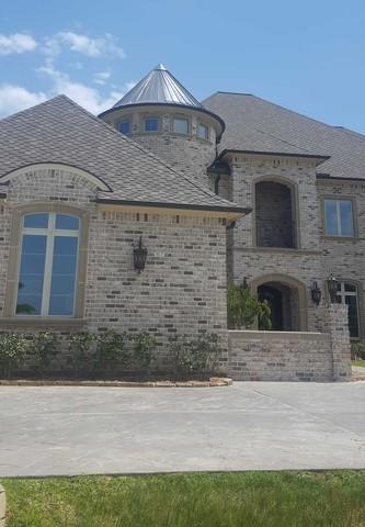 Treacherous Metal Turret Replacement - Custom Roof in Richmond, TX