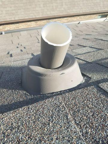 Repair of Leaking Roof Jack