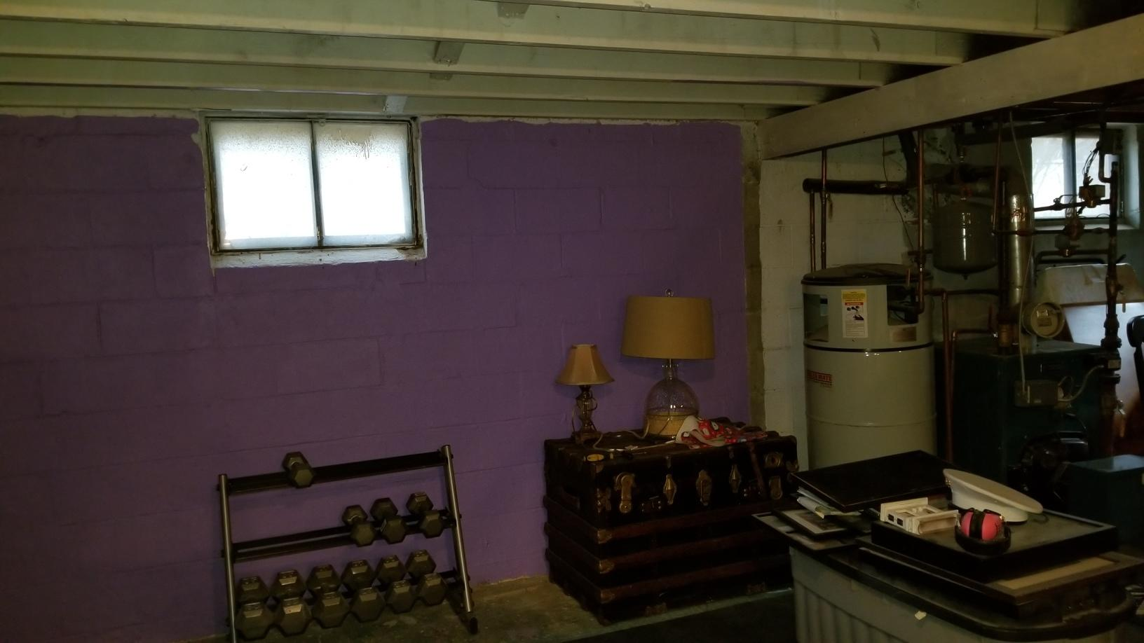 Finished Basement in Poughkeepsie, NY - Before Photo