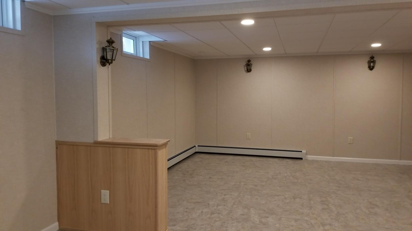 Remove and replace a basement near Port Jervis, NY. - After Photo