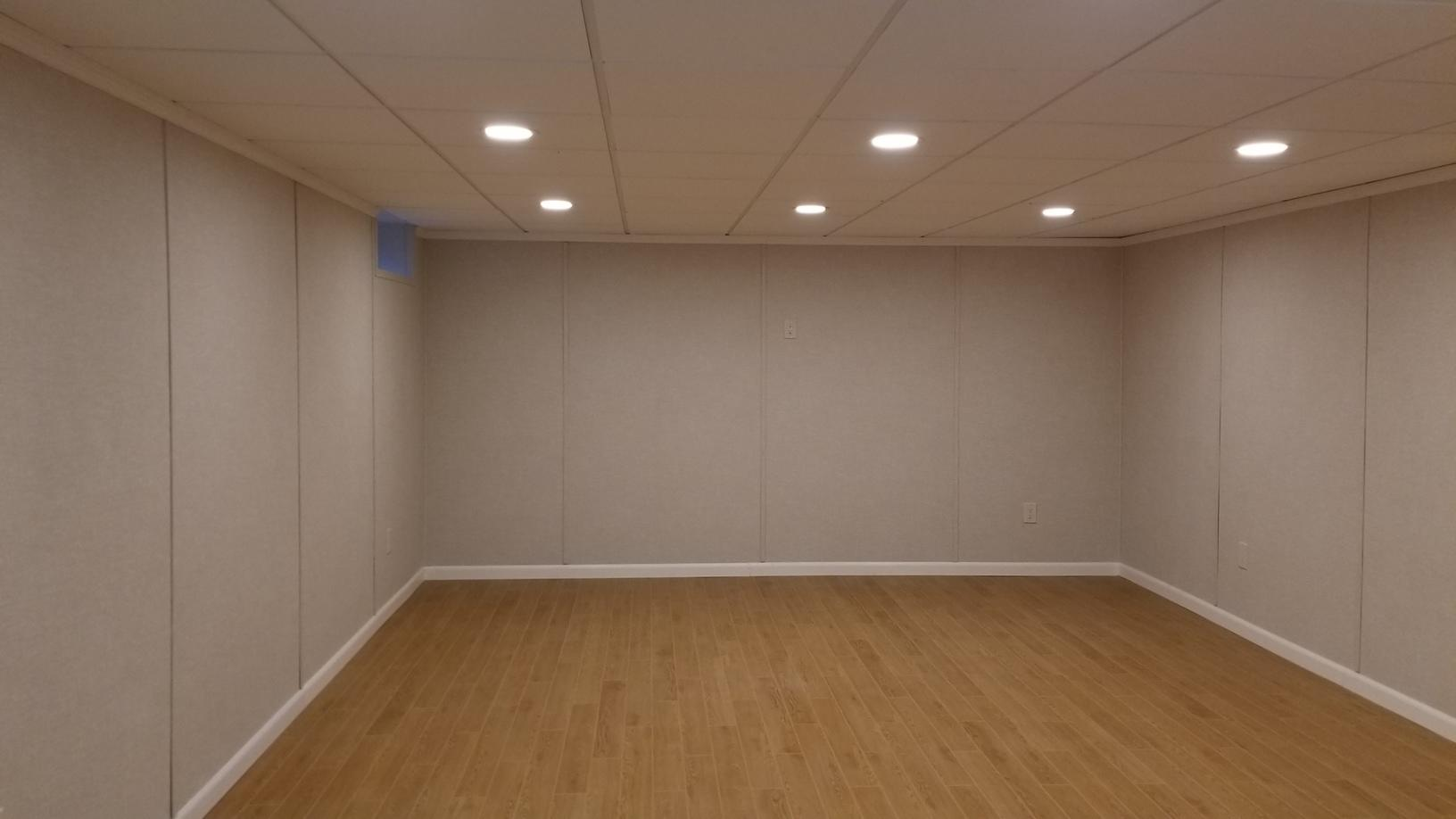 Complete Basement Finishing in New City, NY - After Photo
